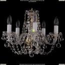 1406/5/141/G/Balls Хрустальная подвесная люстра Bohemia Ivele Crystal (Богемия)