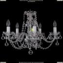 1406/5/195/Ni/Balls Хрустальная подвесная люстра Bohemia Ivele Crystal (Богемия)