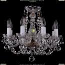 1406/8/141/Pa/Balls Хрустальная подвесная люстра Bohemia Ivele Crystal (Богемия)