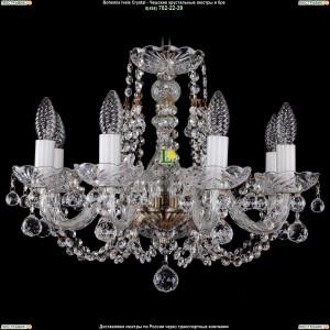 1406/8/160/Pa/Balls Хрустальная подвесная люстра Bohemia Ivele Crystal (Богемия)