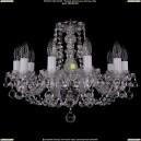 1406/10/160/Ni/Balls Хрустальная подвесная люстра Bohemia Ivele Crystal (Богемия)