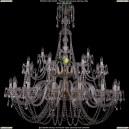 1406/16+8+4/500/G Хрустальная подвесная люстра Bohemia Ivele Crystal (Богемия)
