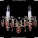 1410/2/G/V7010 Хрустальное бра Bohemia Ivele Crystal (Богемия)