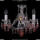 1410/3/141/Ni/V7010 Хрустальная подвесная люстра Bohemia Ivele Crystal (Богемия)