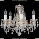 1410/5/141/G/V0300 Хрустальная подвесная люстра Bohemia Ivele Crystal (Богемия)