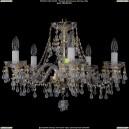 1410/5/195/G/V0300 Хрустальная подвесная люстра Bohemia Ivele Crystal (Богемия)
