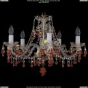 1410/5/195/G/V7010 Хрустальная подвесная люстра Bohemia Ivele Crystal (Богемия)