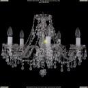 1410/5/195/Ni/V0300 Хрустальная подвесная люстра Bohemia Ivele Crystal (Богемия)