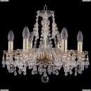1410/6/160/G/V0300 Хрустальная подвесная люстра Bohemia Ivele Crystal (Богемия)