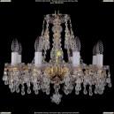 1410/8/160/G/V0300 Хрустальная подвесная люстра Bohemia Ivele Crystal (Богемия)