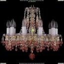 1410/10/141/G/V7010 Хрустальная подвесная люстра Bohemia Ivele Crystal (Богемия)