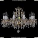 1410/10/195/G/V0300 Хрустальная подвесная люстра Bohemia Ivele Crystal (Богемия)