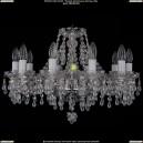 1410/10/195/Ni/V0300 Хрустальная подвесная люстра Bohemia Ivele Crystal (Богемия)