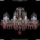 1410/10/195/NI/V7010 Хрустальная подвесная люстра Bohemia Ivele Crystal (Богемия)