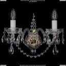 1411/2/G/Big Хрустальное бра Bohemia Ivele Crystal (Богемия)