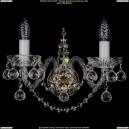 1411/2/G/Big/Balls Хрустальное бра Bohemia Ivele Crystal (Богемия)