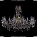 1411/12/380-72/G Хрустальная подвесная люстра Bohemia Ivele Crystal (Богемия)