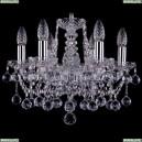 1413/6/141/Ni/Balls Хрустальная подвесная люстра Bohemia Ivele Crystal (Богемия)