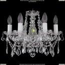 1413/6/141/Ni/Leafs Хрустальная подвесная люстра Bohemia Ivele Crystal (Богемия)