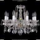 1413/8/165/Pa/Leafs Хрустальная подвесная люстра Bohemia Ivele Crystal (Богемия)
