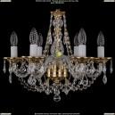 1606/6/160/G/Leafs Хрустальная подвесная люстра Bohemia Ivele Crystal (Богемия)