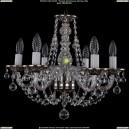 1606/6/160/NB/Balls Хрустальная подвесная люстра Bohemia Ivele Crystal (Богемия)