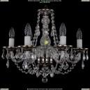 1606/6/160/NB/Leafs Хрустальная подвесная люстра Bohemia Ivele Crystal (Богемия)
