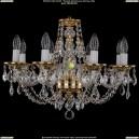 1606/8/195/G/Leafs Хрустальная подвесная люстра Bohemia Ivele Crystal (Богемия)