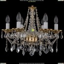 1613/6/165/G/Leafs Хрустальная подвесная люстра Bohemia Ivele Crystal (Богемия)