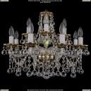 1613/8+4/200/GB/Balls Хрустальная подвесная люстра Bohemia Ivele Crystal (Богемия)