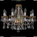 1613/8/200/G/Leafs Хрустальная подвесная люстра Bohemia Ivele Crystal (Богемия)
