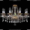 1613/8/220/G/Leafs Хрустальная подвесная люстра Bohemia Ivele Crystal (Богемия)