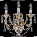 1700/3/C/GW Бра с элементами художественного литья и хрусталем Bohemia Ivele Crystal (Богемия)