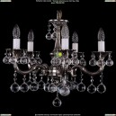 1701/5/A/NB/Balls Хрустальная подвесная люстра Bohemia Ivele Crystal (Богемия)