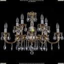 1702/5+5/265+110/A/GB Хрустальная подвесная люстра Bohemia Ivele Crystal (Богемия)