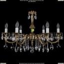 1702/6/A/GB Хрустальная подвесная люстра Bohemia Ivele Crystal (Богемия)