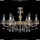 1702/6/A/GW Хрустальная подвесная люстра Bohemia Ivele Crystal (Богемия)
