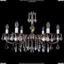 1702/6/A/NB/Leafs Хрустальная подвесная люстра Bohemia Ivele Crystal (Богемия)