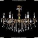 1702/6/B/GB Хрустальная подвесная люстра Bohemia Ivele Crystal (Богемия)