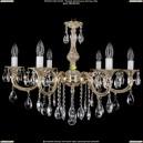 1702/6/B/GW Хрустальная подвесная люстра Bohemia Ivele Crystal (Богемия)