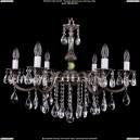 1702/6/B/NB Хрустальная подвесная люстра Bohemia Ivele Crystal (Богемия)