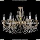 1702/6/C/GW Хрустальная подвесная люстра Bohemia Ivele Crystal (Богемия)