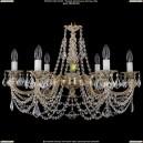 1702/6/C/GW/Leafs Хрустальная подвесная люстра Bohemia Ivele Crystal (Богемия)