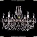 1702/6/C/NB Хрустальная подвесная люстра Bohemia Ivele Crystal (Богемия)