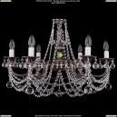 1702/6/C/NB/Balls Хрустальная подвесная люстра Bohemia Ivele Crystal (Богемия)