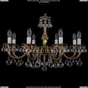 1702/8/A/FP/Balls Хрустальная подвесная люстра Bohemia Ivele Crystal (Богемия)
