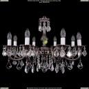 1702/8/A/NB/Leafs Хрустальная подвесная люстра Bohemia Ivele Crystal (Богемия)