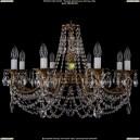 1702/8/C/FP Хрустальная подвесная люстра Bohemia Ivele Crystal (Богемия)