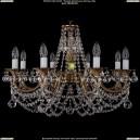 1702/8/C/FP/Balls Хрустальная подвесная люстра Bohemia Ivele Crystal (Богемия)