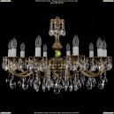 1702/10/A/GB Хрустальная подвесная люстра Bohemia Ivele Crystal (Богемия)